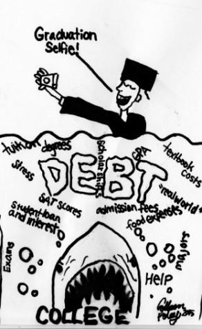 College Debt Cartoon