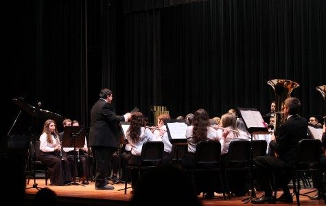 Audience Sings Praise for Winter 2015 Band Concert