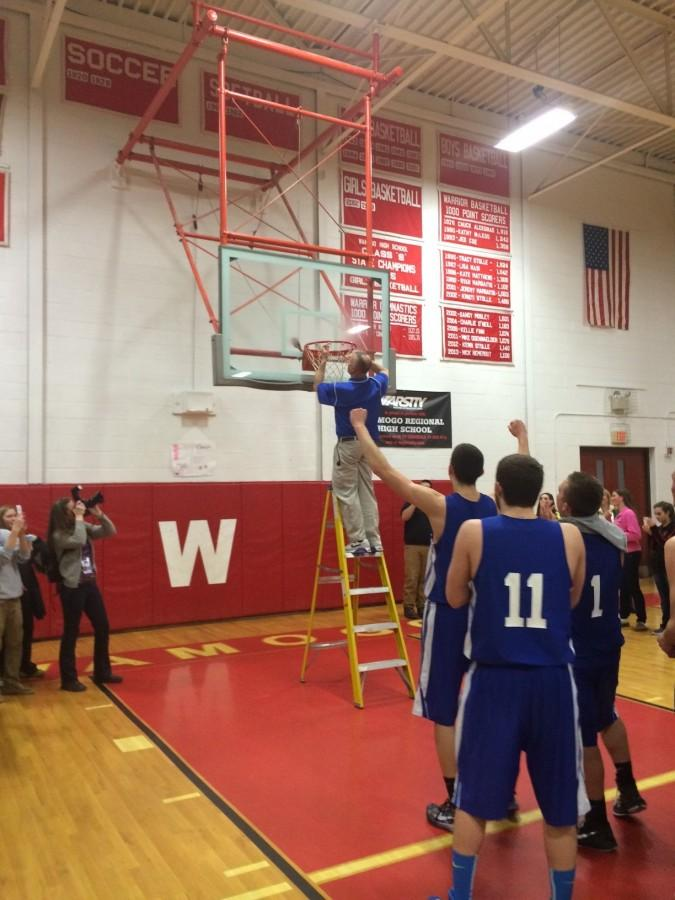 Boys Basketball:  Lewis Mills wins Berkshire League Championship