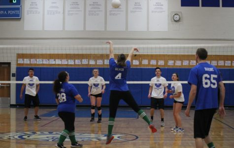 Team iCure Attacks Cancer in Volleyball Game Held Friday Night