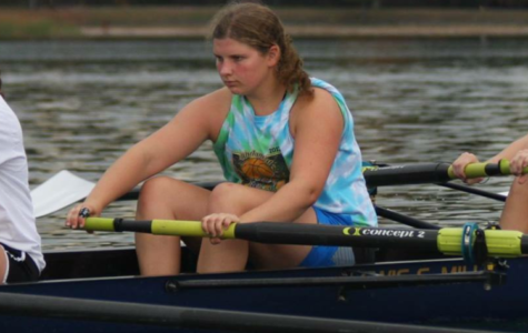 Senior rower  Gabby Bagdonas recently signed on to become a member of the Division 1 crew team at Rutgers University in New Jersey.
