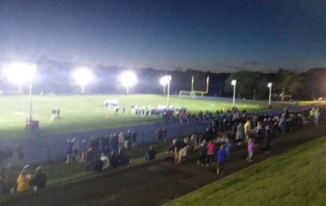 Lights cast new glow on Mills football